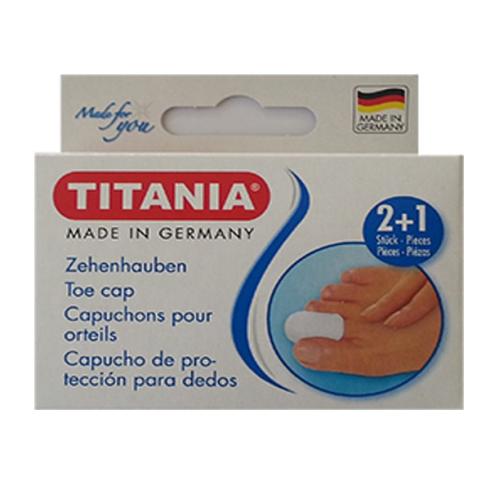 Titania Lábujjvédő gyűrű zárt Box (2 kicsi, 1 nagy) 5214