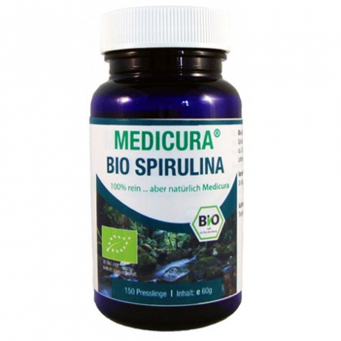 Medicura Bio Spirulina 150 db tabletta