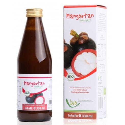 Medicura Mangosztán 100% Bio gyümölcslé 330ml
