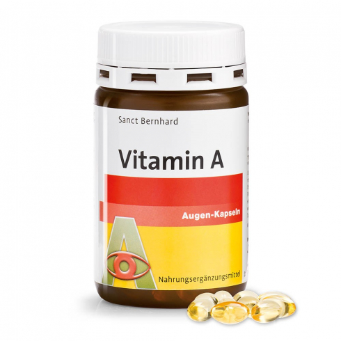 Sanct Bernhard  A-vitamin kapszula 800µg 180DB
