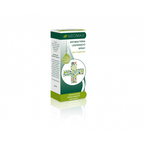 Aromax Eukaliptusz-Borsosmenta-Kakukkfű Légfrissítő Spray 20ml