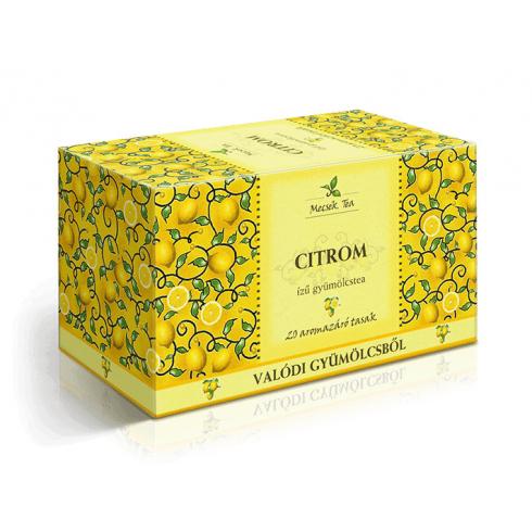 MECSEK Citrom tea filteres