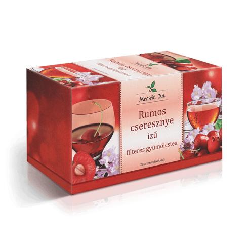 MECSEK Rumos cseresznye ízű tea filteres