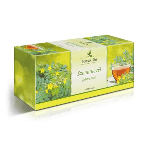 MECSEK Szennalevél tea 25 filteres/EP kártyára adható/