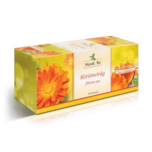 MECSEK Körömvirág tea 25 filteres/EP kártyára adható/
