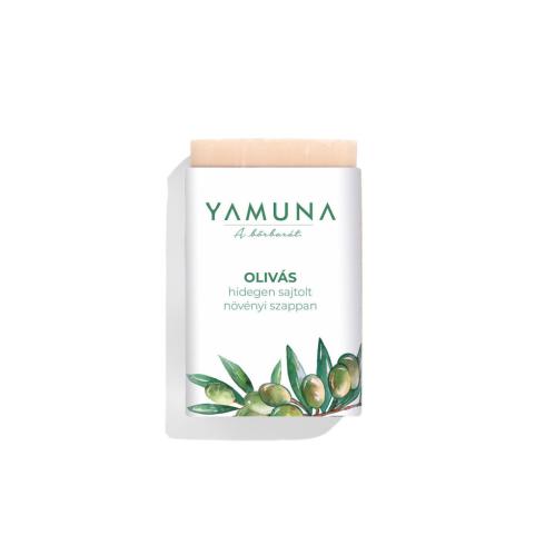 Yamuna hidegen sajtolt oliva/bergamott szappan