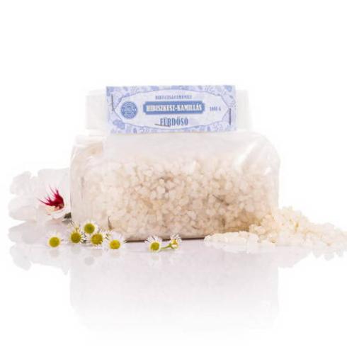 Yamuna fürdősó hibiszkusz és kamilla 1kg