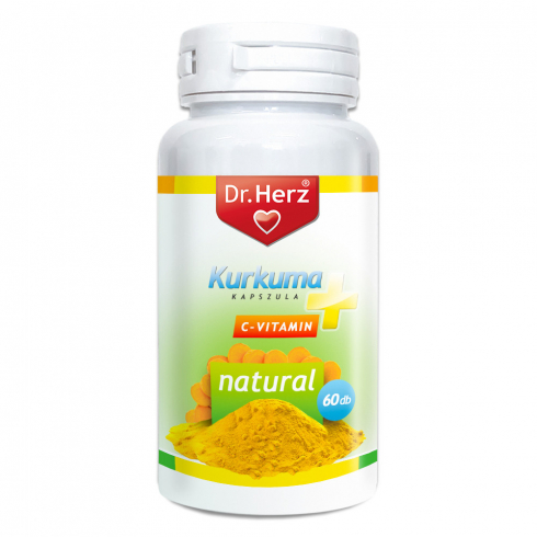 Dr. Herz Kurkuma + C-vitamin kapszula 60db