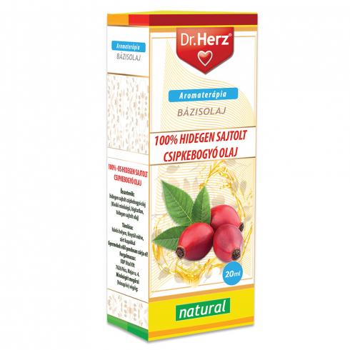 Dr. Herz  Csipkebogyóolaj 100% hidegen sajtolt 20ml