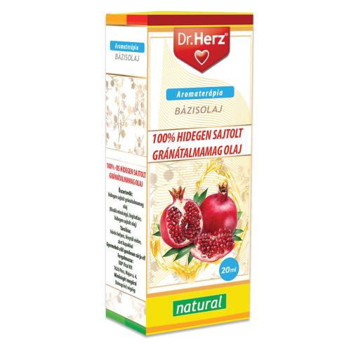 Dr. Herz  Gránátalma magolaj 100% hidegen sajtolt 20ml
