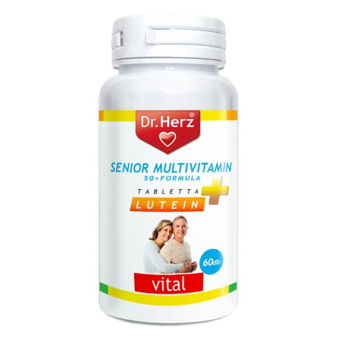 Dr. Herz Senior Multivitamin 50+ Lactobacillus kapszula 60db