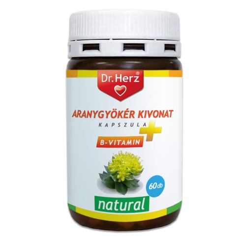 Dr. Herz  Aranygyökér kivonat kapszula + B-vitamin