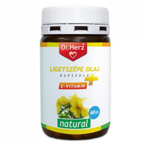 Dr. Herz Ligetszépe olaj + E-vitamin kapszula