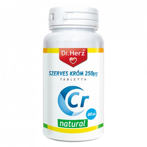 Dr. Herz Szerves Króm-pikolinát 250μg tabletta 60db