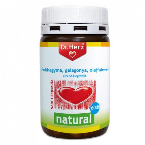 Dr. Herz Fokhagyma-Galagonya-Olajfalevél kapszula 60db