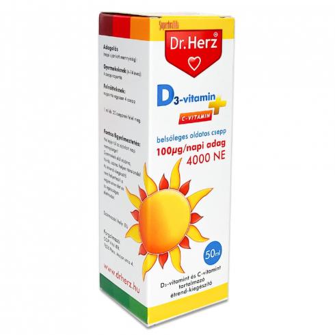 Dr.Herz D-vitamin csepp