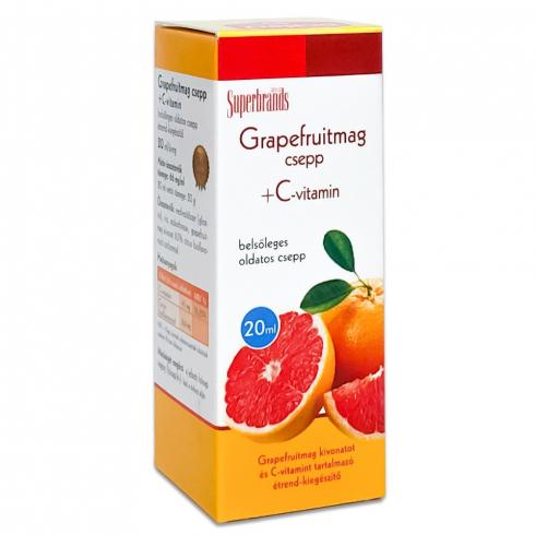 Dr.Herz Grapefruitmag csepp 20ml