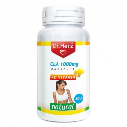 Dr. Herz CLA 1000mg + E-vitamin kapszula 60db