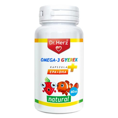 Dr. Herz Omega-3 500mg kapszula gyerekeknek 60db