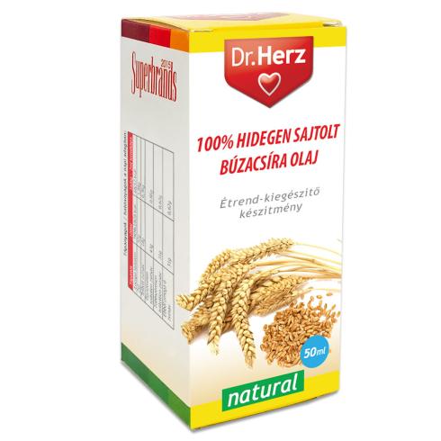 Dr. Herz  Búzacsíra olaj 100% hidegen sajtolt 50ml