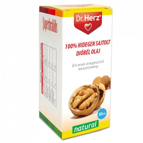 Dr. Herz  Dióbél olaj 100% hidegen sajtolt 50ml