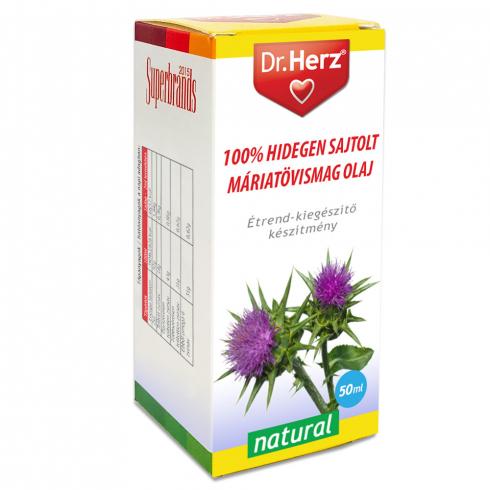 Dr. Herz  Máriatövismag olaj 100% hidegen sajtolt 50ml
