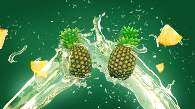 Medicura Ananász 100% Bio gyümölcslé 330 ml